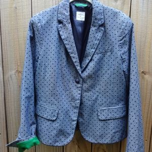 "Gap  ""The Academy Blazer"" - Blue"